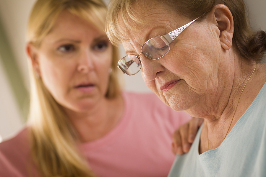 Elder Care in Modesto CA: What Can You Do When Your Elderly Loved One Loses Her Cool?
