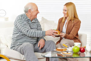 Caregivers Fresno CA - Mindful Eating - What is It and How Can It Help Your Dad?